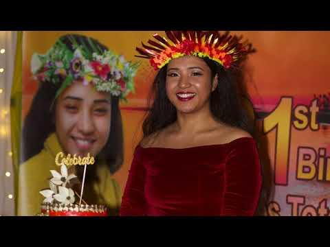 Kiribati - Joan Totene 21st Birthday Celebration Highlights