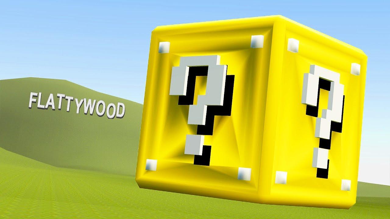 So... I added Lucky Blocks to Garry's Mod
