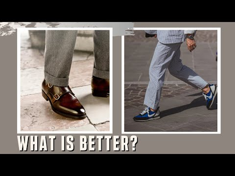 How to Style Suits - Sneakers vs Dress Shoes | Whats your go to shoe?