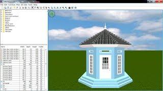 Sweet Home 3d Roof Tutorial Cara Membuat Atap (v)