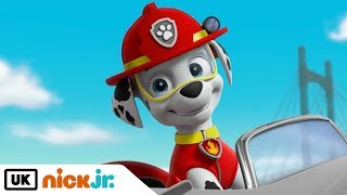 Paw Patrol | Pups and the Mystery of the Driverless Snowcat | Nick Jr. UK