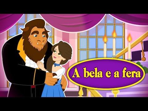 A Bela e a Fera  em Português - Historia completa - Desenho Animado