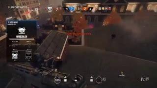 Triple shields in Rainbow 6 siege