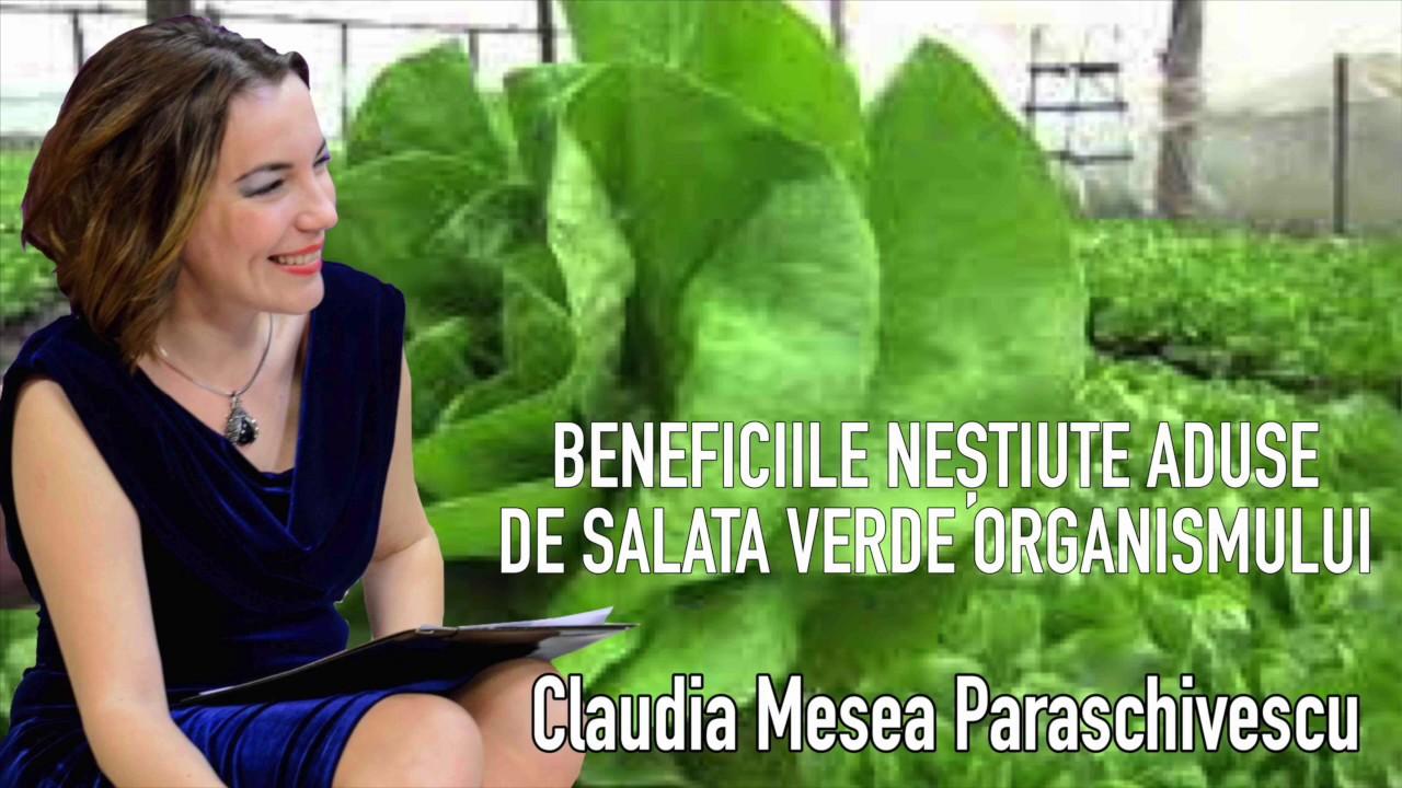Salata Verde - Beneficii Nestiute Aduse Organismului