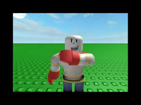 Papyrus makes a Mixtape ROBLOX