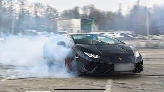 Lamborghini HURACAN PERFORMANTE   DRIFTING