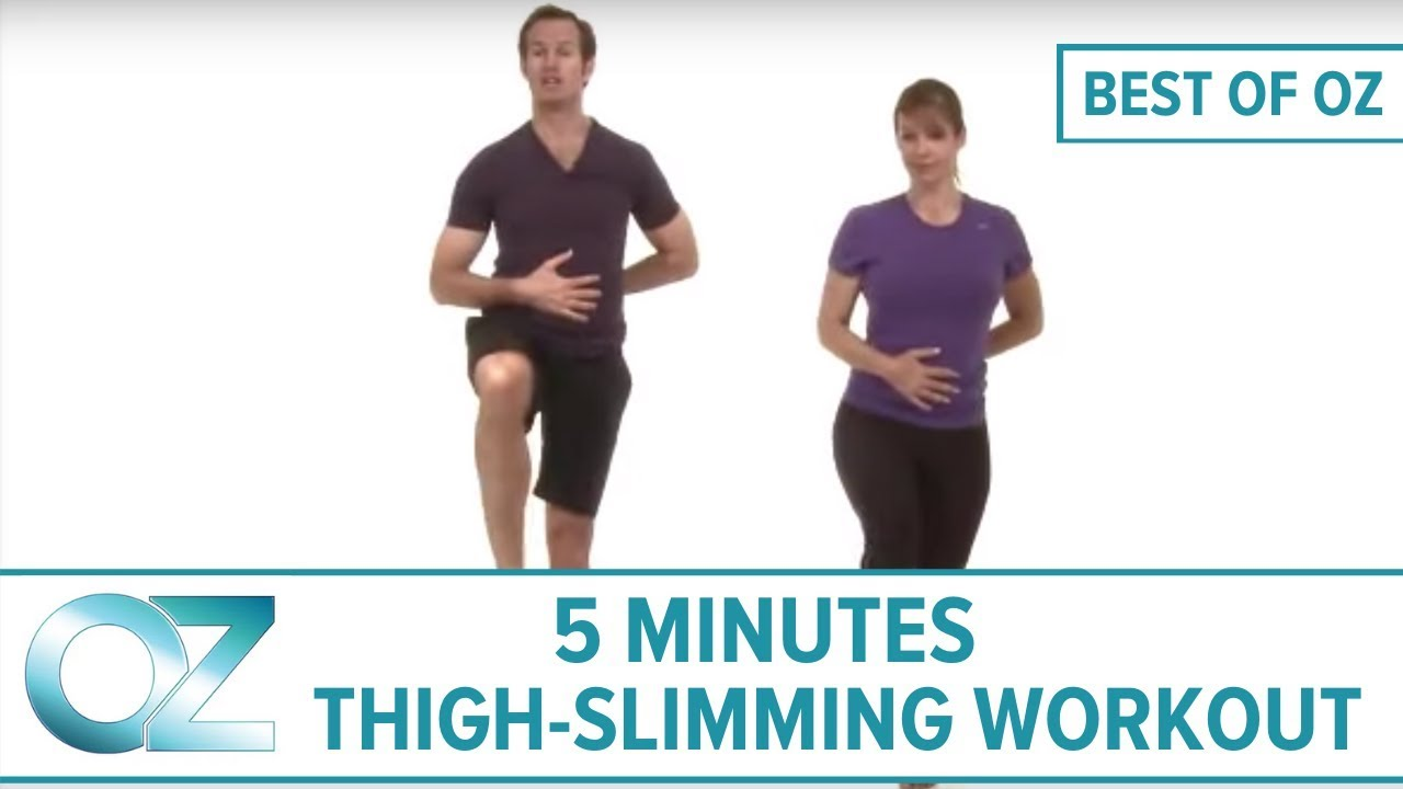 5-Minute Thigh-Slimming Workout
