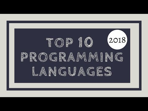 Top 10 Programming Languages to learn in 2018 | Tech Primers