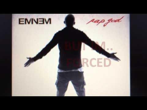 EMINEM - Rap God referencing MMLP1 censored line