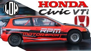 Honda Civic VTi TURBO 1500HP | Kissi RPM Motorsport [ 1/4 de Milha EP4 ] [ENG SUB]
