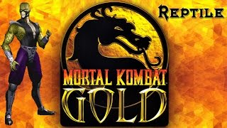 Reptile - Mortal Kombat Gold HD/60 fps Playthrough