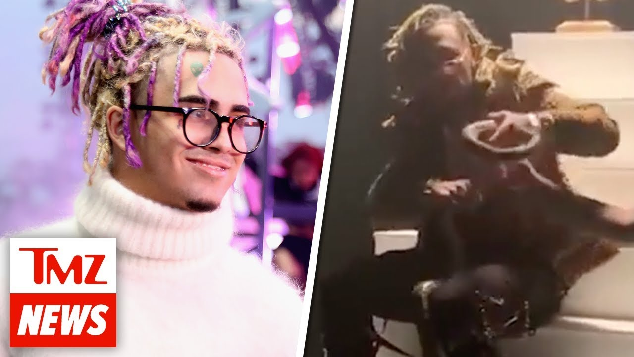 Lil Pump Bitten By Snake, Left Bloodied While Filming Music Video | TMZ NEWSROOM TODAY