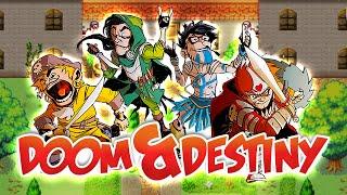 DOOM & DESTINY [001] - Episode 1: Keller & Lurche ★ Let's Play Doom & Destiny