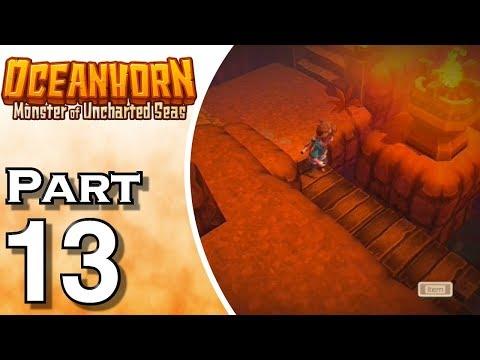 Let's Play Oceanhorn (Gameplay + Walkthrough) Part 13 - Fire Spell