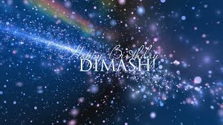 Dears wish Dimash Happy 25th Birthday