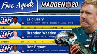 Could A Team of NFL Free Agents Win the Super Bowl? Madden 20