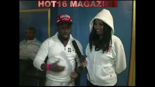 SHOONEY DA RAPPER AND T REX @ ULTIMATE WARRIOR BATTLE LEAGUE W/ HOT16 MAGAZINE