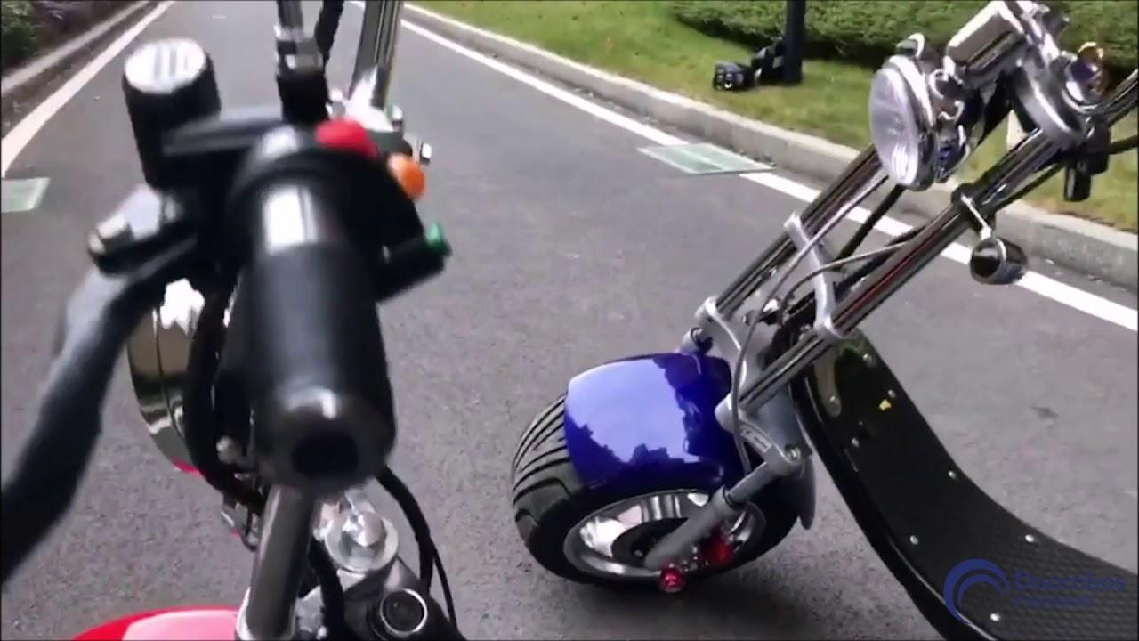 Unieke Harley e-scooter van Doornbos