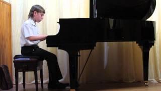 Данила. Сонатина. Фортепиано. Открытый урок