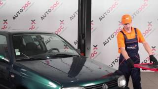 Jak vyměnit Sada brzdových čelistí parkovací brzda VW PASSAT Variant (365) - video příručky krok za krokem