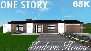 Roblox Bloxburg: One Story Modern House 65K (No Gamepasses)   Jessie Jellyfish