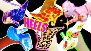 BEST NEW HEELS DESIGNS! Which shoes you can & can't CUSTOMIZE in Royale High