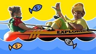 فوزي موزي وتوتي  - صيد السمك في البحر