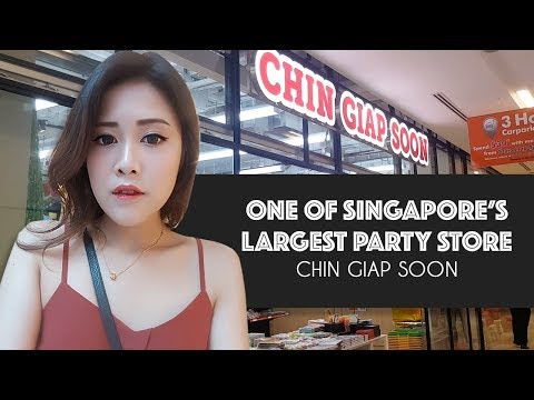 One of Singapore's Largest Party Supplies Store | Shopping Guide