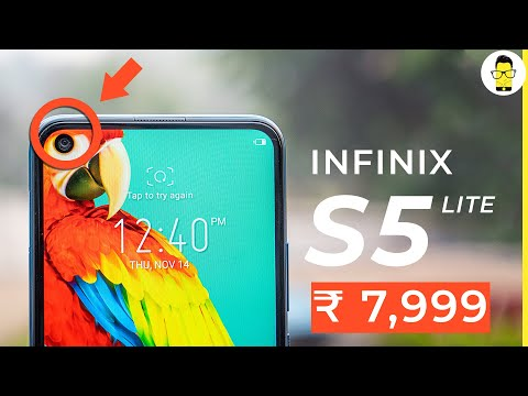 Infinix S5 Lite unboxing and first impressions: hole punch at just Rs 7,999