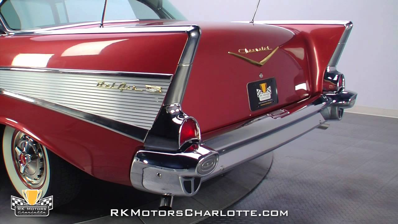 132627 1957 Chevrolet Bel Air Youtube