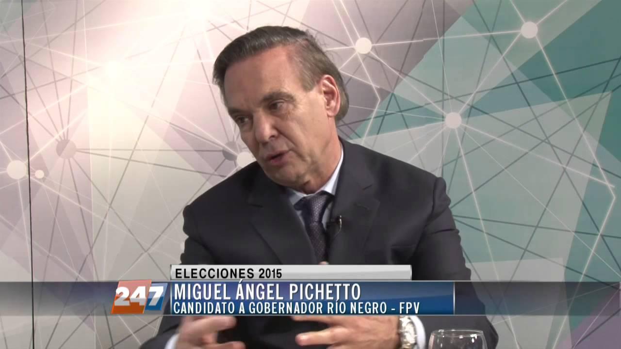 Resultado de imagen para pichetto candidato a gobernador