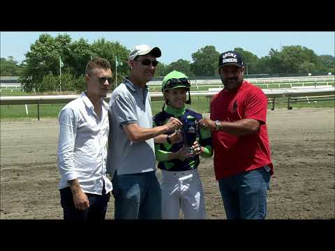 video thumbnail for MONMOUTH PARK 6-30-19 RACE 2
