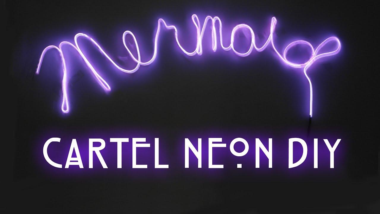 ae988512e1f68 Haz tu propio letrero Neon !   Pt 1 - YouTube