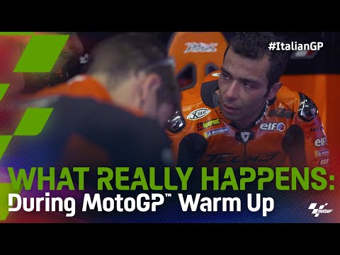 What Really Happens: During MotoGP™ Warm up