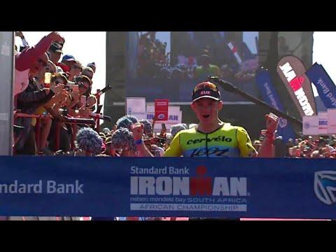 IRONMAN SOUTH AFRICA 2019 CHAMPIONSHIP WINNER BEN HOFFMAN
