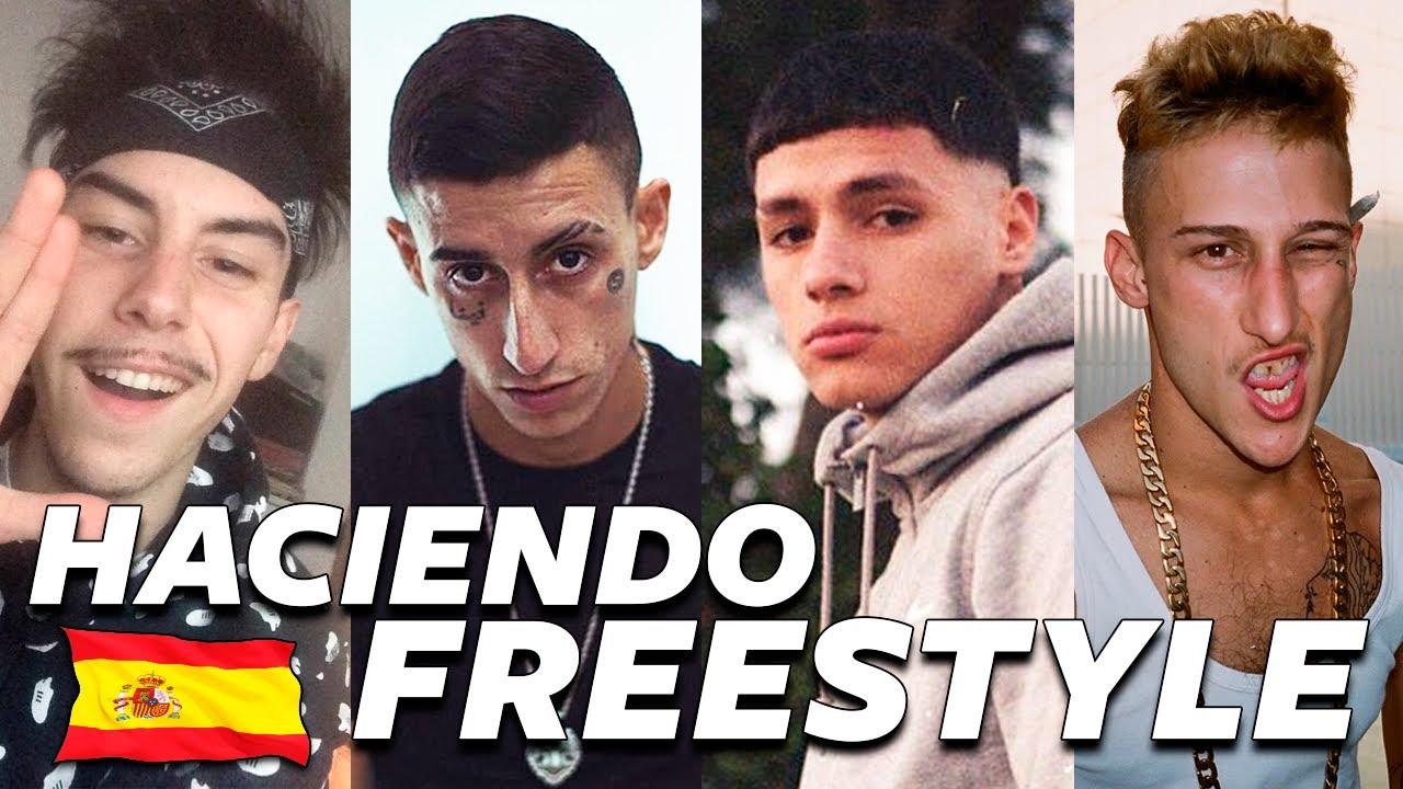 ARTISTAS ESPAÑOLES HACIENDO FREESTYLE (Kidd Keo, Beny Jr, Yung Beef...)
