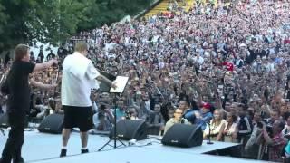 Баста / Гуф - концерт в Зеленом Театре 19 июля 2012(Эксклюзивное видео с концерта Баста / Гуф в Зеленом Театре (Москва 19.07.2012), 2012-07-24T20:52:26.000Z)