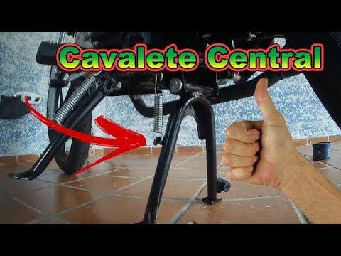 Instalação de cavalete central na Factor 150