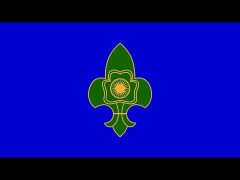 The Bharat Scouts and Guides Flag Song