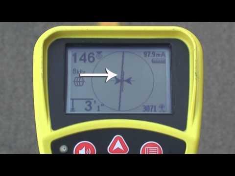 SeekTech SR-20 - Line Tracing Basics (2 of 4)