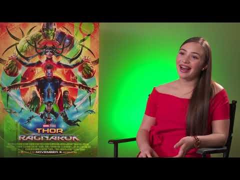 Thor: Ragnarok Interview with Karl Urban by Alejandra G.
