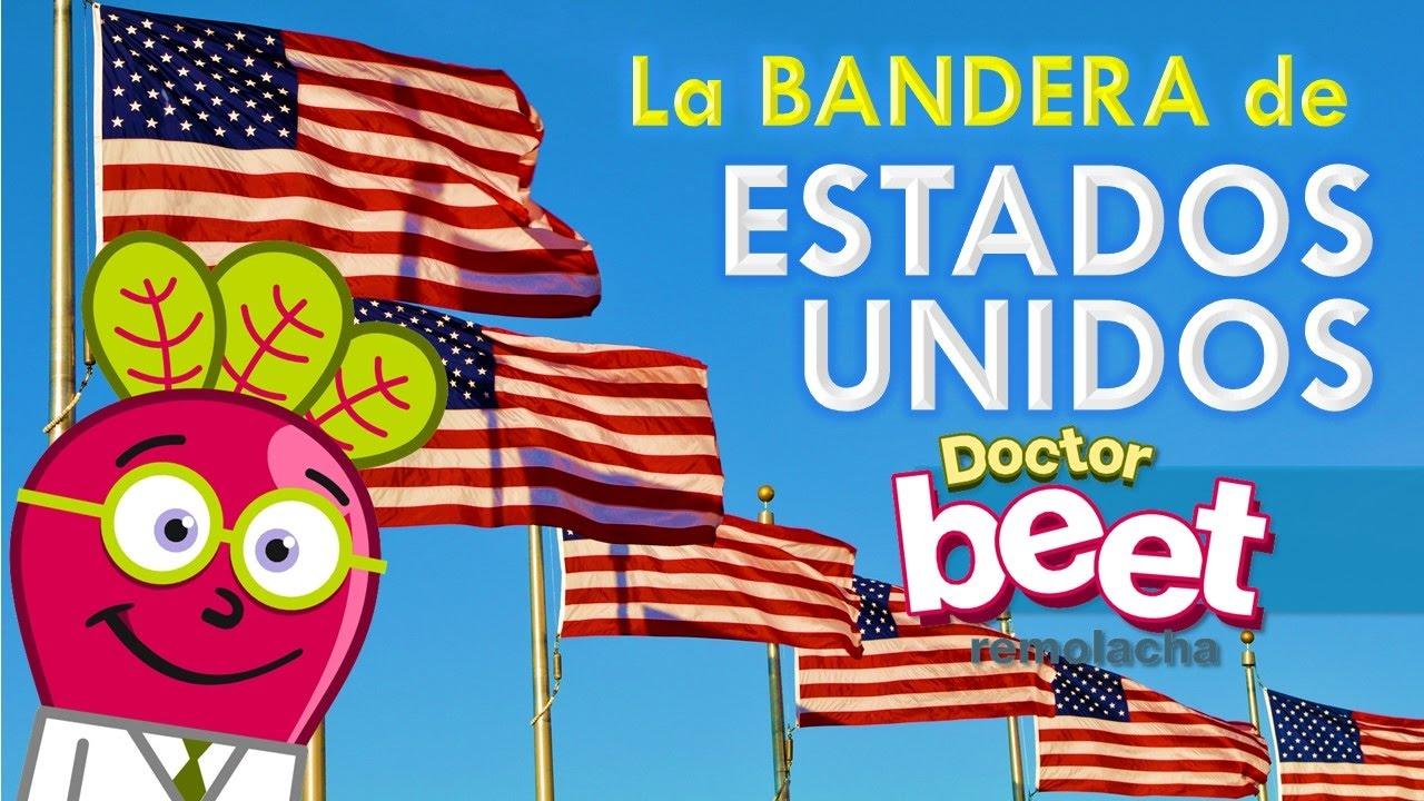 🇺🇸 BANDERA DE LOS ESTADOS UNIDOS DE AMERICA Historia para niños ...