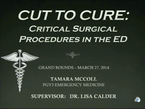 Cut to Cure: Critical Surgical Procedures in the Emergency Department