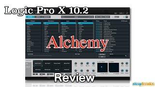 Logic Pro X 10.2  Alchemy  基本概要 _ Review(Sleepfreaks DTMスクール)