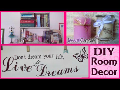 DIY Room Decor Ideas  JewelCandle  Idee Semplici ed