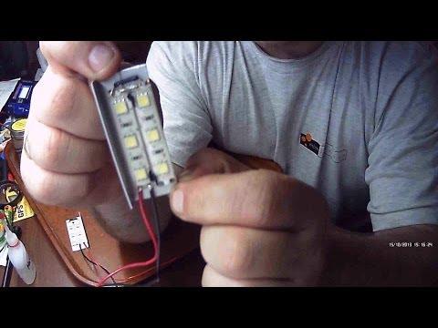 Cмотреть онлайн Установка светодиодной ленты в стоп-сигналы ВАЗ 2109
