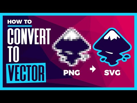 How To Vectorize a PNG Logo with Inkscape