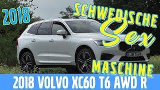 Neuer 2018 Volvo XC60 T6 AWD R-Design -  Test, Review und Fahrbericht / Testdrive