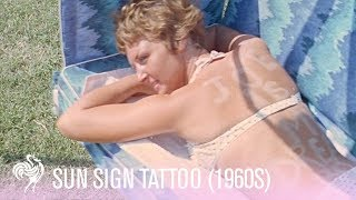 Sun sign tattoo fashion craze