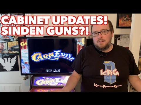 CarnEvil Arcade1Up Build Updates! | Where's My Sinden Guns? New Games? Adding a Trackball! from Killer Arcade Games